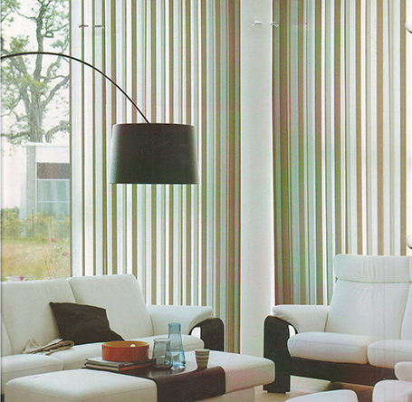 polyester blind newest vertical sheer blind