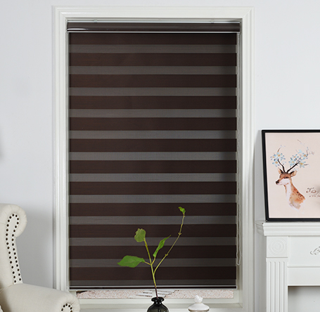 Not easy to fade zebra roller blinds fabric