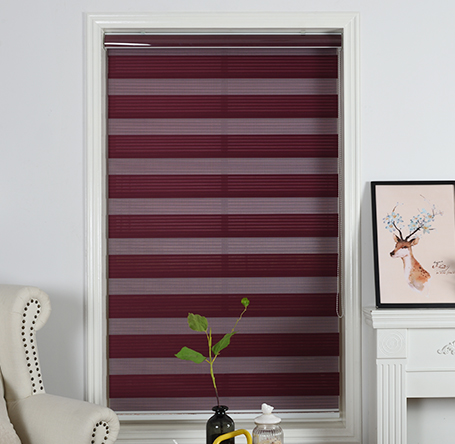 dustproof anti-static Pleated dual shades